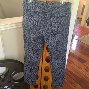 Anthropologie Jeans - Anthropologie Pilcro Leopard Mid-Rise Skinny Jeans